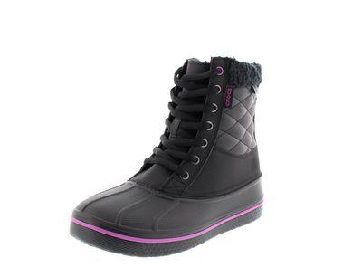 CROCS - AllCast Waterproof Duck Boot - black viola