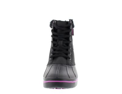 CROCS - AllCast Waterproof Duck Boot - black viola preview 3
