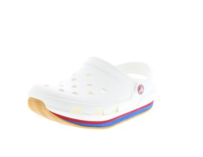 CROCS Schuhe - Clogs RETRO CLOG - white red