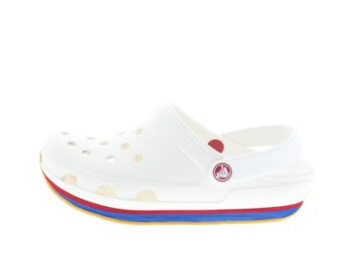 CROCS Schuhe - Clogs RETRO CLOG - white red preview 2