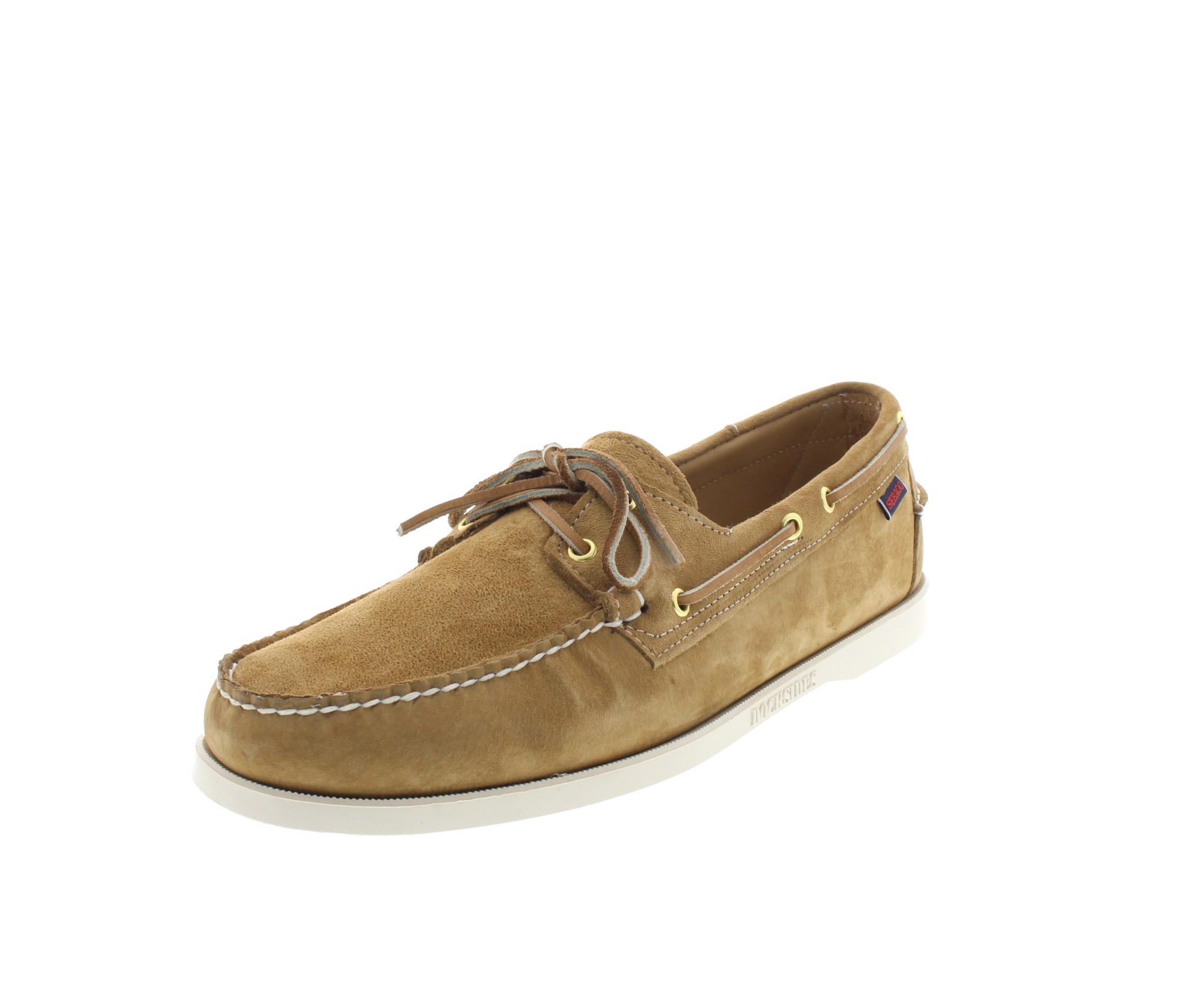 SEBAGO Schuhe in Übergröße - DOCKSIDES - sand suede