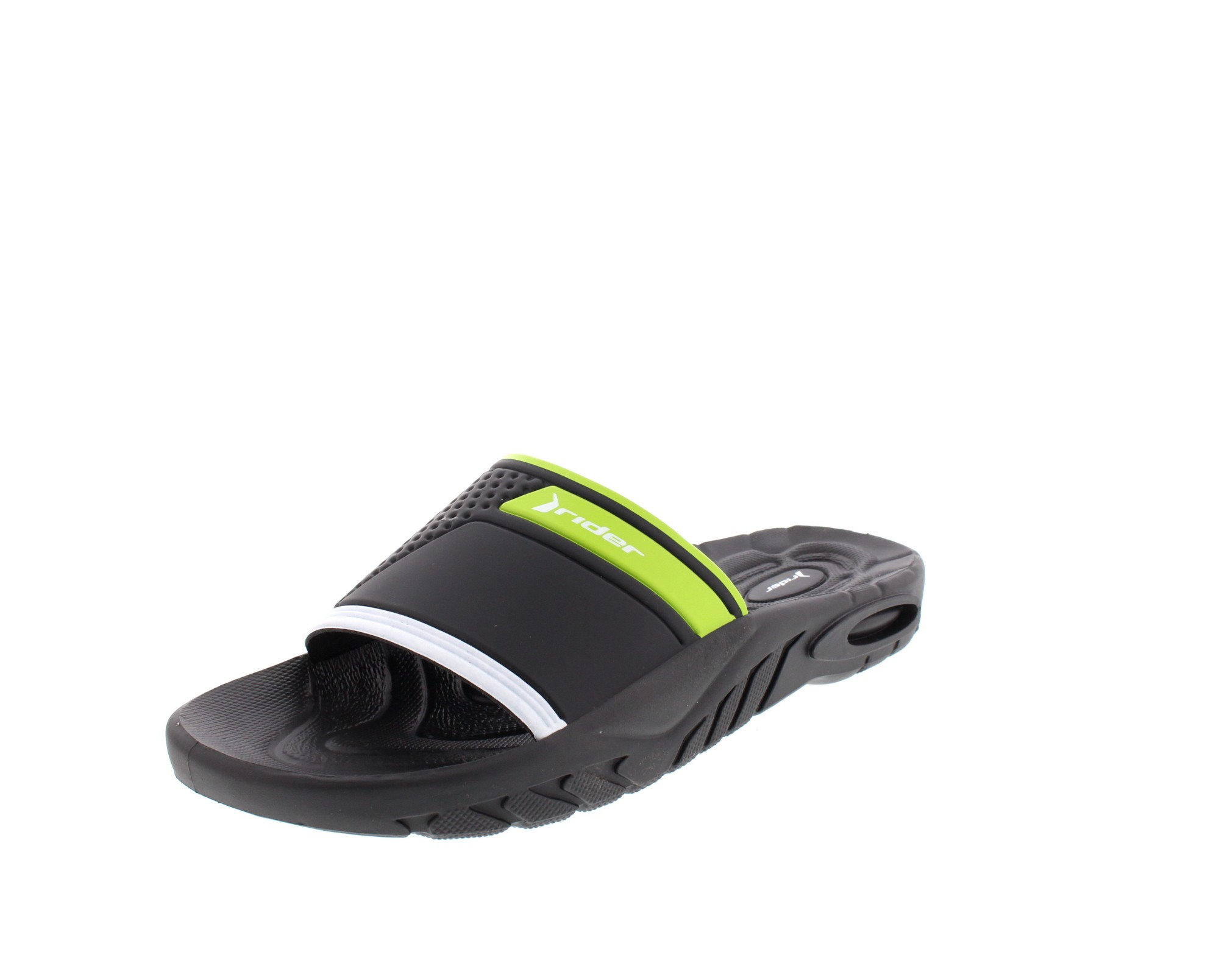 RIDER Schuhe - Schlappe SAILOR AD 81129 - black green