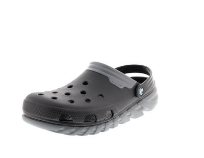CROCS Schuhe - Clogs DUET MAX CLOG - black charcoal