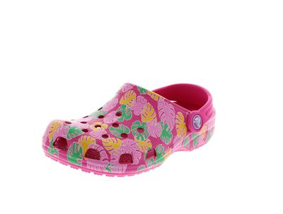CROCS Kinderschuhe - CLASSIC Tropical Clog - candy pink