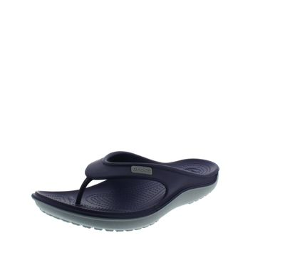 CROCS - Zehentrenner DUET WAVE FLIP - nautical navy concrete