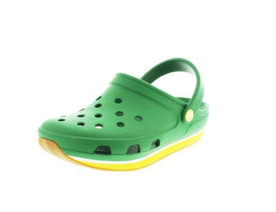 CROCS Schuhe - Clogs RETRO CLOG - kelly green yellow