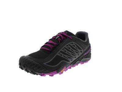 MERRELL Damenschuhe ALL OUT TERRA ICE WTPF black purple
