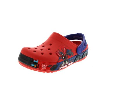 CROCS -  CB TRANSFORMERS Optimus Prime - flame cerulan