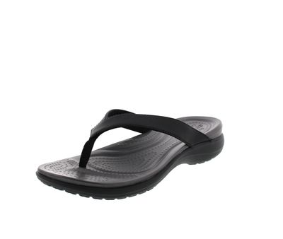 CROCS Schuhe - Zehentrenner CAPRI V - black graphite preview 1
