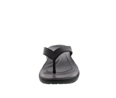 CROCS Schuhe - Zehentrenner CAPRI V - black graphite preview 3