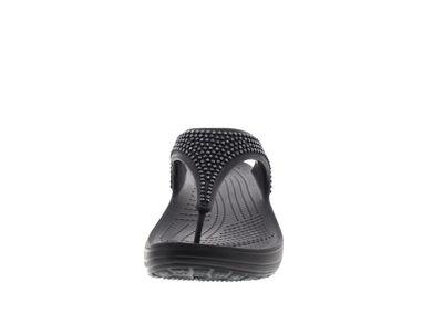 CROCS Schuhe - Zehentrenner SLOANE DIAMANTE FLIP black preview 3