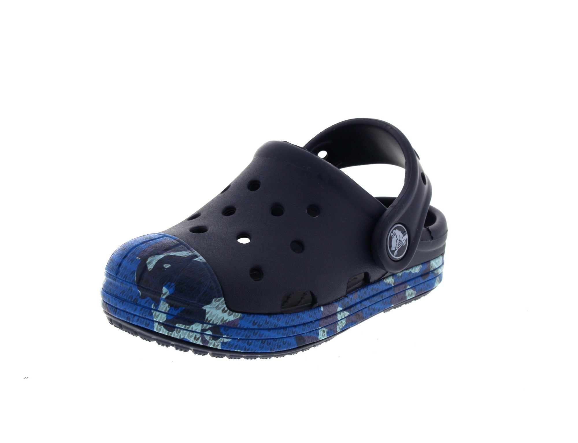 CROCS Kinderschuhe - BUMP IT CAMO Clog - navy 0-4298