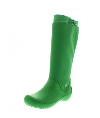 CROCS Damenschuhe - Gummistiefel RainFloe - kelly green