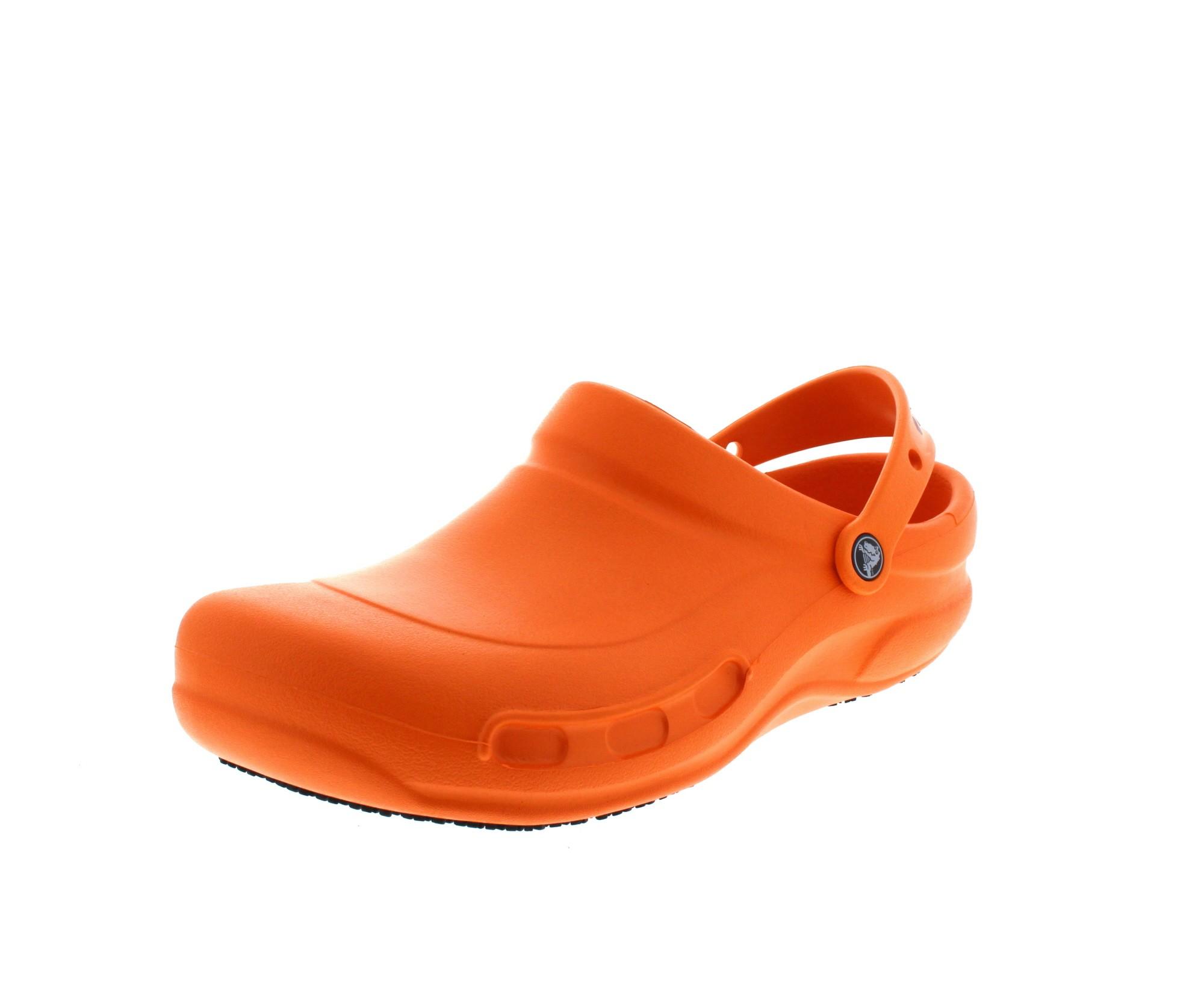 CROCS - BISTRO BATALI EDITION in Übergrößen - orange