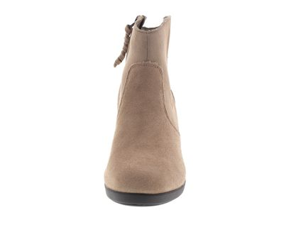 CROCS - Damenstiefel Leigh Suede Wedge Bootie - tan preview 3