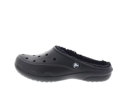 CROCS - Gefütterter FREESAIL PLUSH LINED CLOG - black preview 2