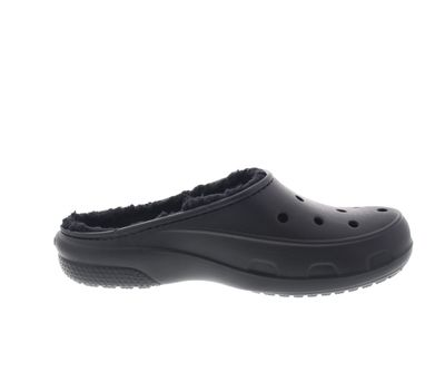CROCS - Gefütterter FREESAIL PLUSH LINED CLOG - black preview 4