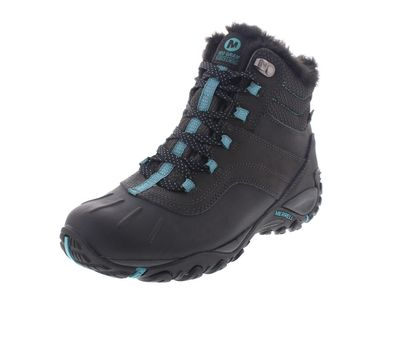 MERRELL - Stiefel ATMOST MID WTPF - black brittany blue preview 1