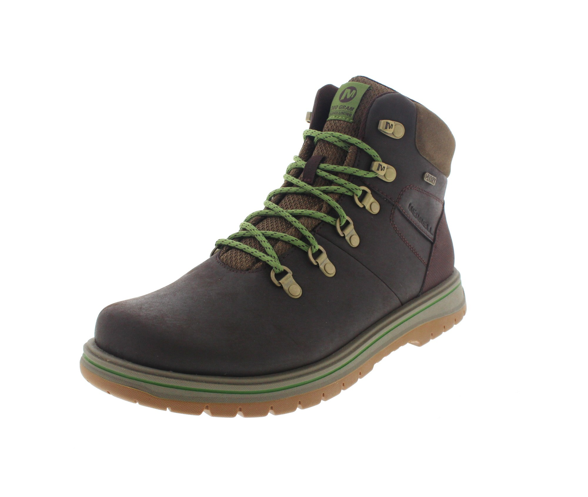 MERRELL - Stiefel BOUNDER MID THERMO WTPF - espresso-0