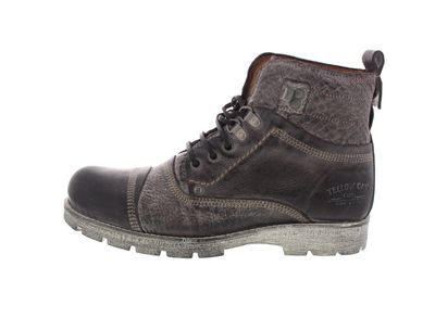 YELLOW CAB Schuhe - Boots NEW GEAR Y15341 - dark brown preview 2