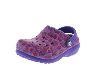 CROCS Kinder - Classic Lined Graphic Clog - leopard