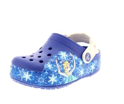 CROCS Kinder - CrocsLights FROZEN - cerulan blue oyster