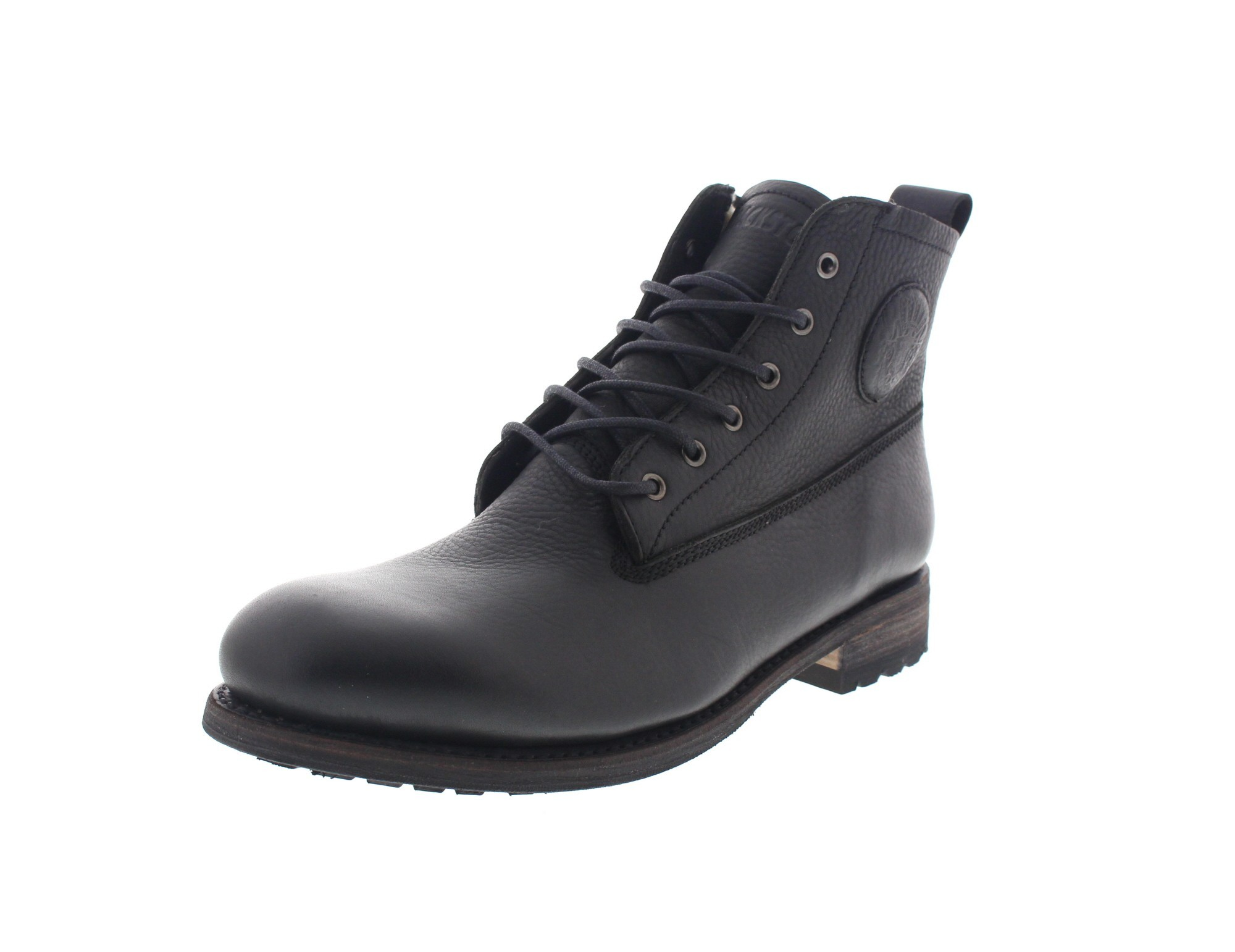 BLACKSTONE in Übergröße - Premium-Boots GM10 FUR black