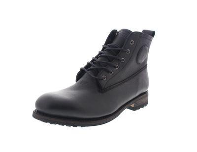 BLACKSTONE in Übergröße - Premium-Boots GM10 FUR black