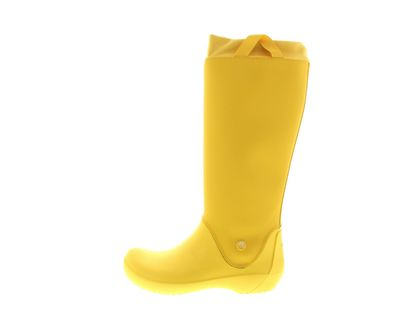 CROCS - Gummistiefel RainFloe - yellow preview 2
