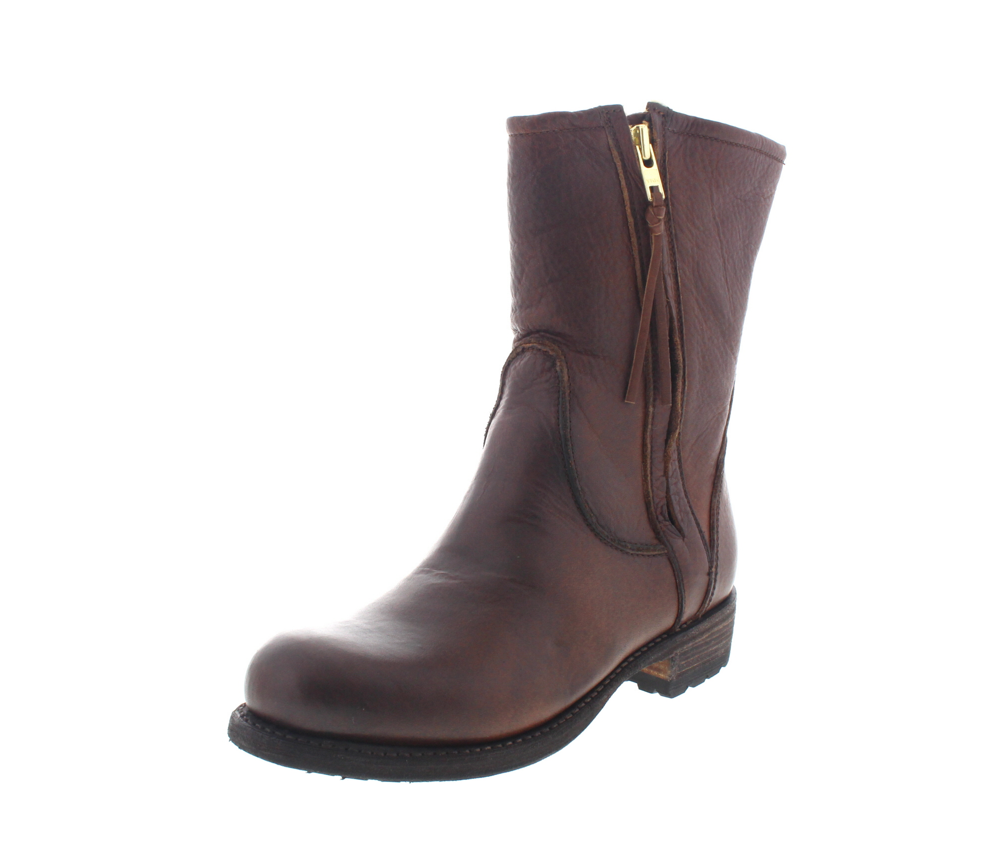 BLACKSTONE Damenschuhe - Boots MARY EW74 - old yellow-0