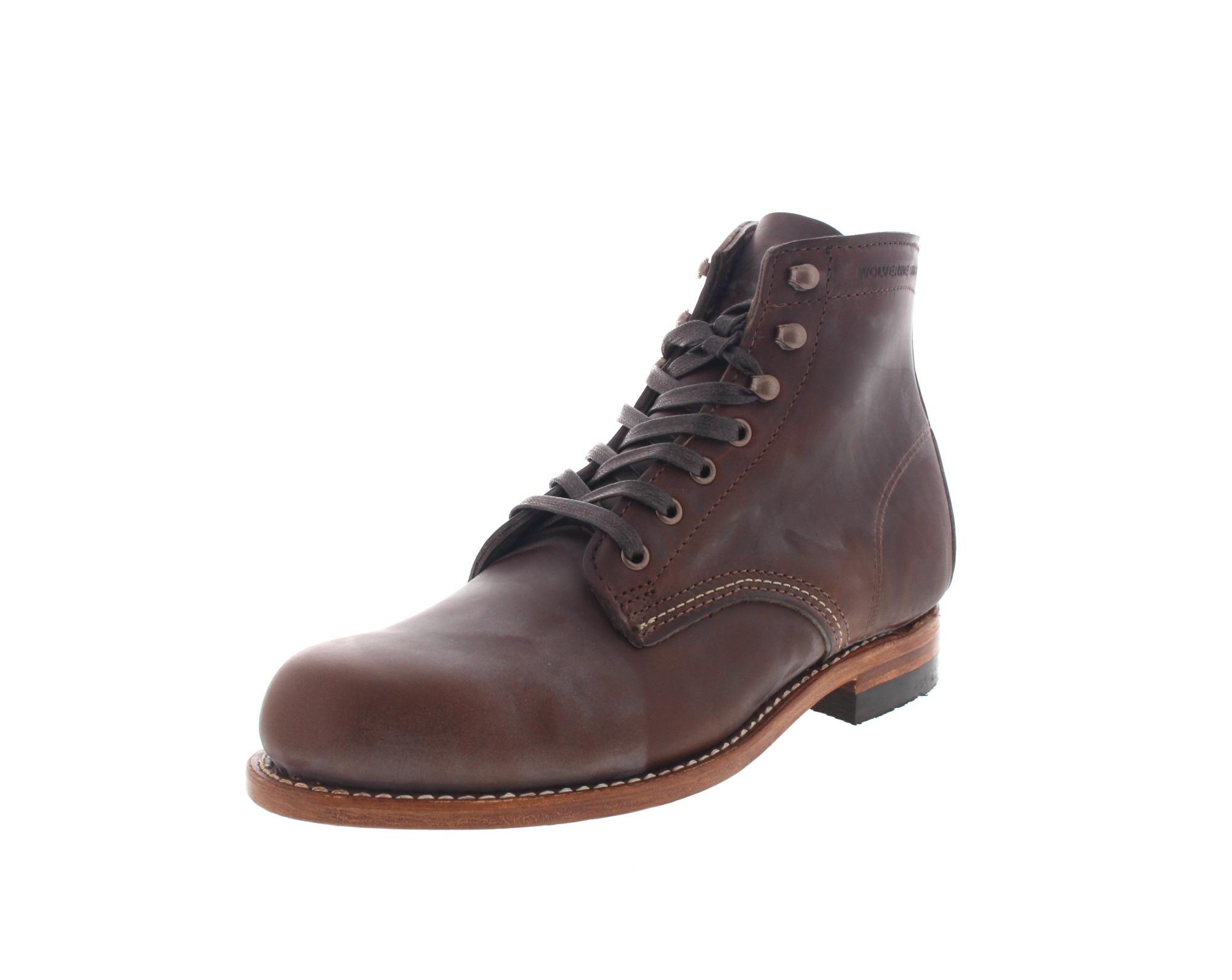 WOLVERINE 1000 Mile - Premium-Boots 1000 Mile - brown-0