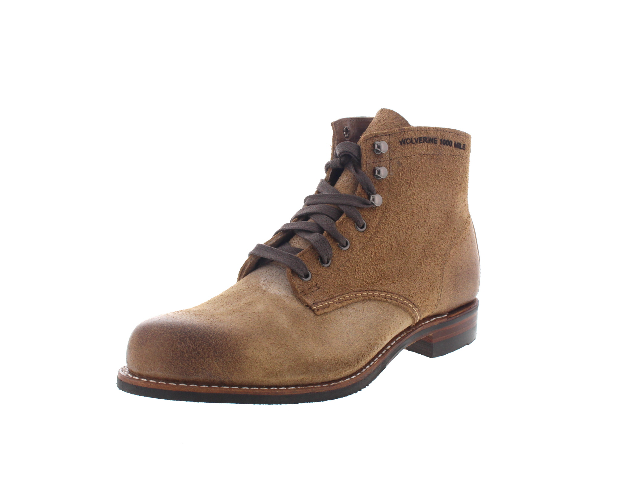 WOLVERINE 1000 MILE - Premium-Boots MORLEY - natural-0