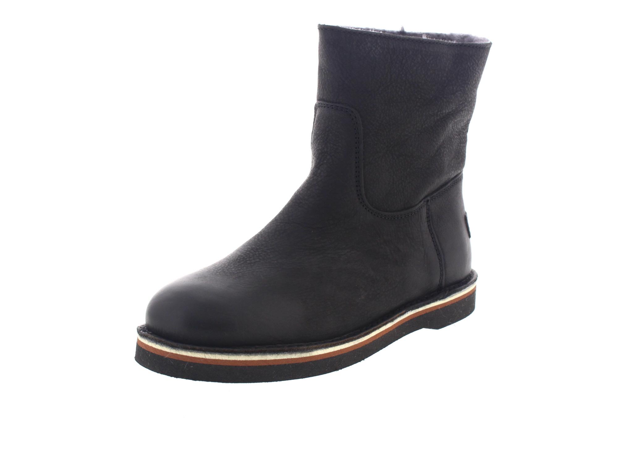 SHABBIES AMSTERDAM Schuhe Siefeletten 202082 - black-0
