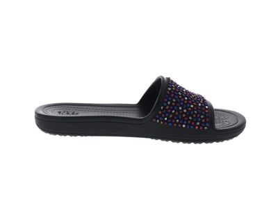 CROCS Pantoletten SLOANE Embellished Slide black multi preview 4