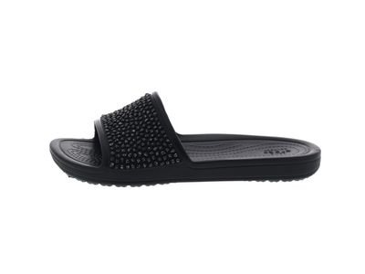 CROCS Pantoletten - SLOANE Embellished Slide - black preview 2