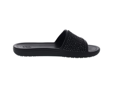 CROCS Pantoletten - SLOANE Embellished Slide - black preview 4