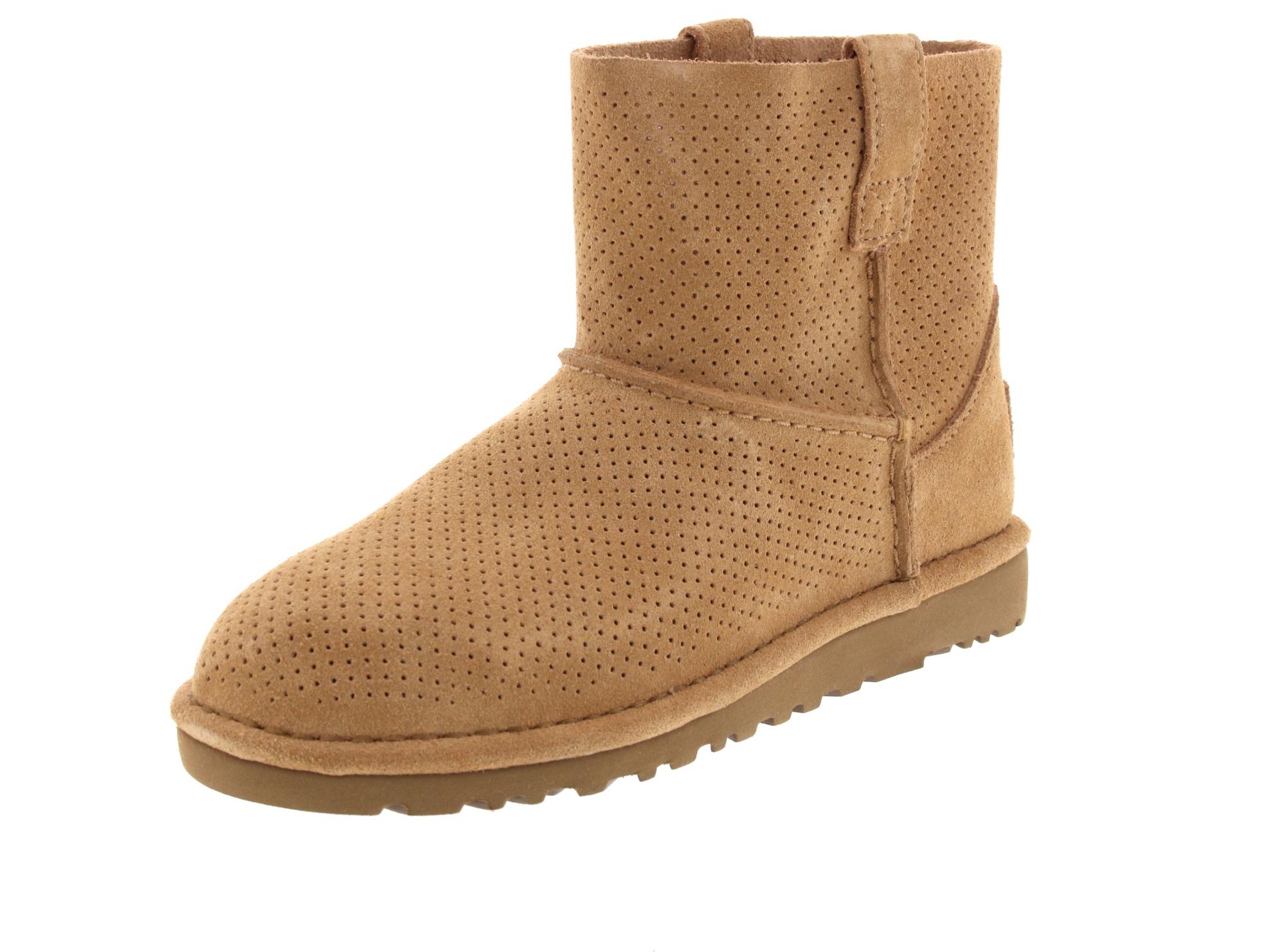 UGG Schuhe - CLASSIC UNLINED MINI PERF 1016852 - tawny-0