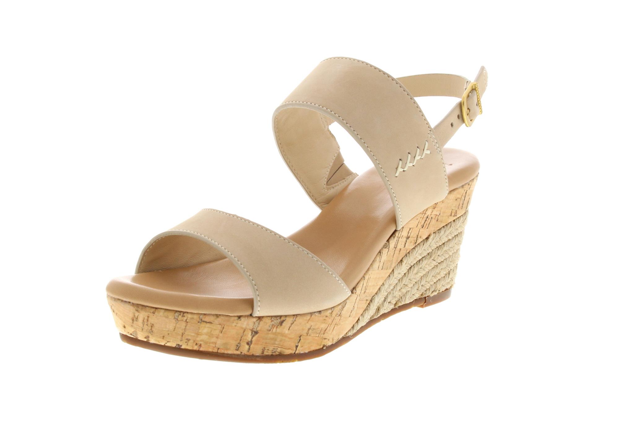 UGG Damen - Keil-Sandalette ELENA 1015098 - horchata-0