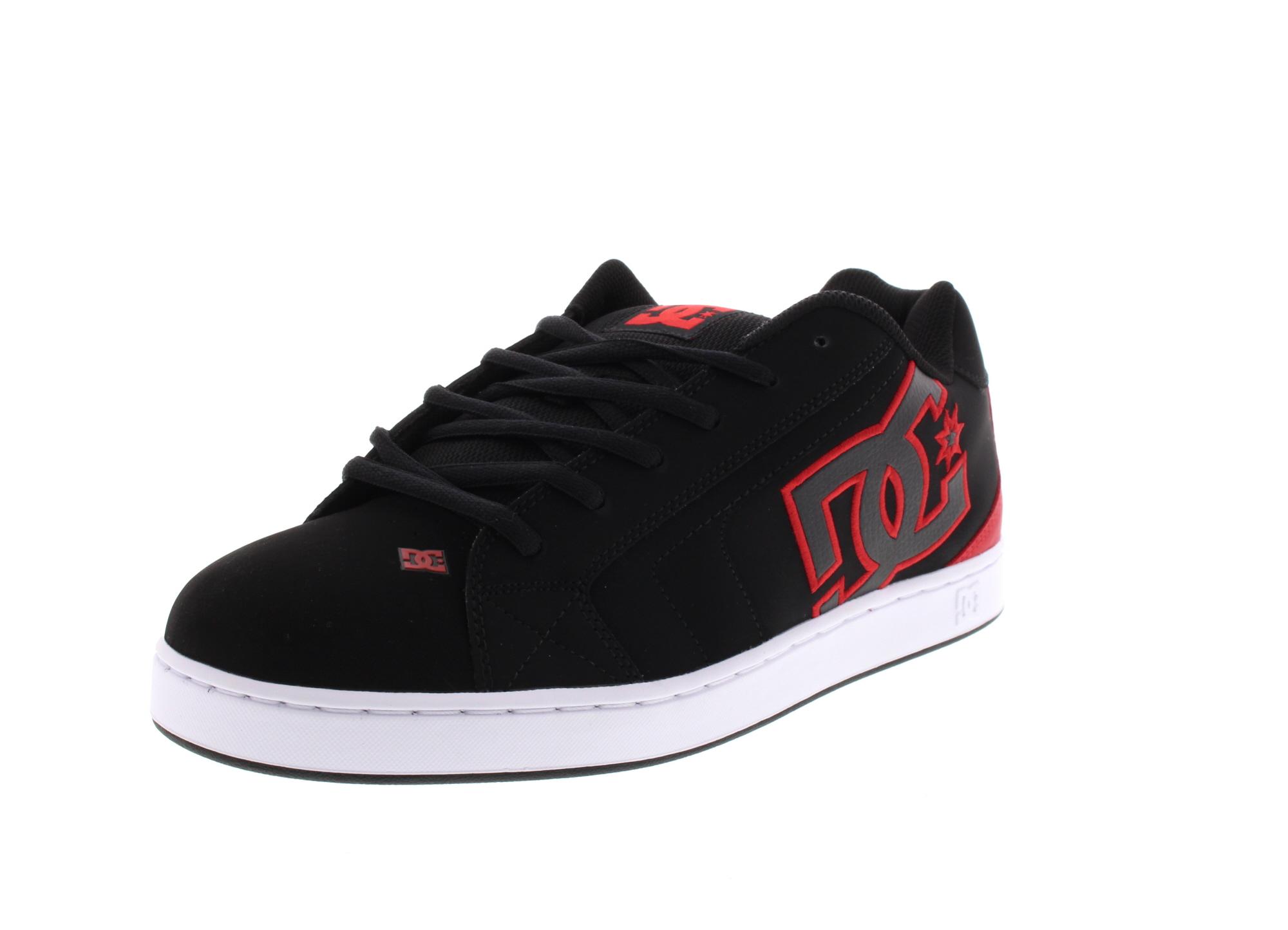 DC Schuhe in Übergrößen - Sneaker NET 302361 black red