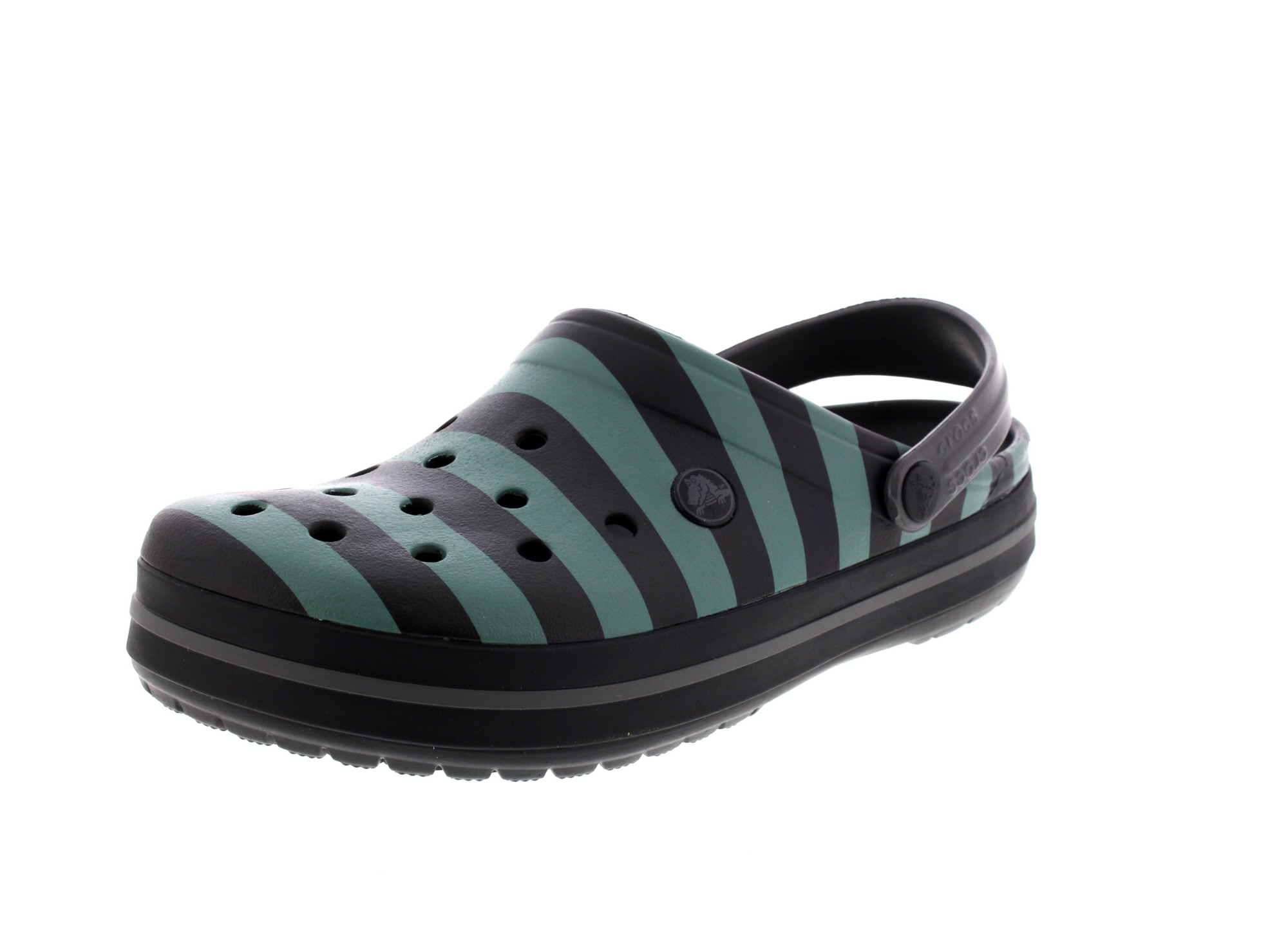 CROCS - Exclusive - CROCBAND GRAPHIC Clog - black graphite0