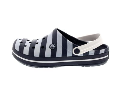 CROCS - Exclusive - CROCBAND GRAPHIC Clog - navy white preview 2