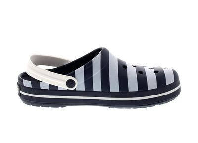 CROCS - Exclusive - CROCBAND GRAPHIC Clog - navy white preview 4