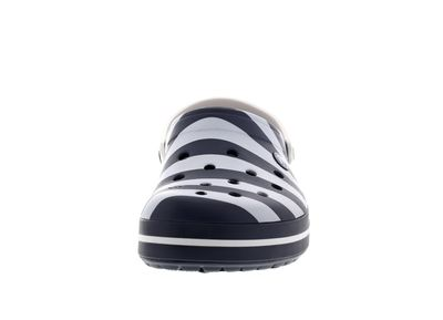 CROCS - Exclusive - CROCBAND GRAPHIC Clog - navy white preview 3