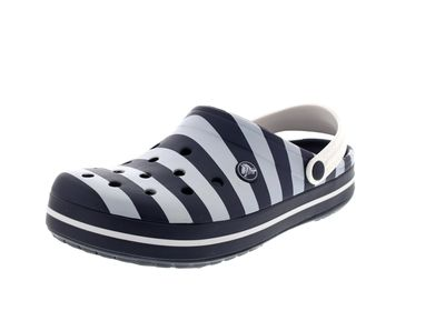 CROCS - Exclusive - CROCBAND GRAPHIC Clog - navy white preview 1