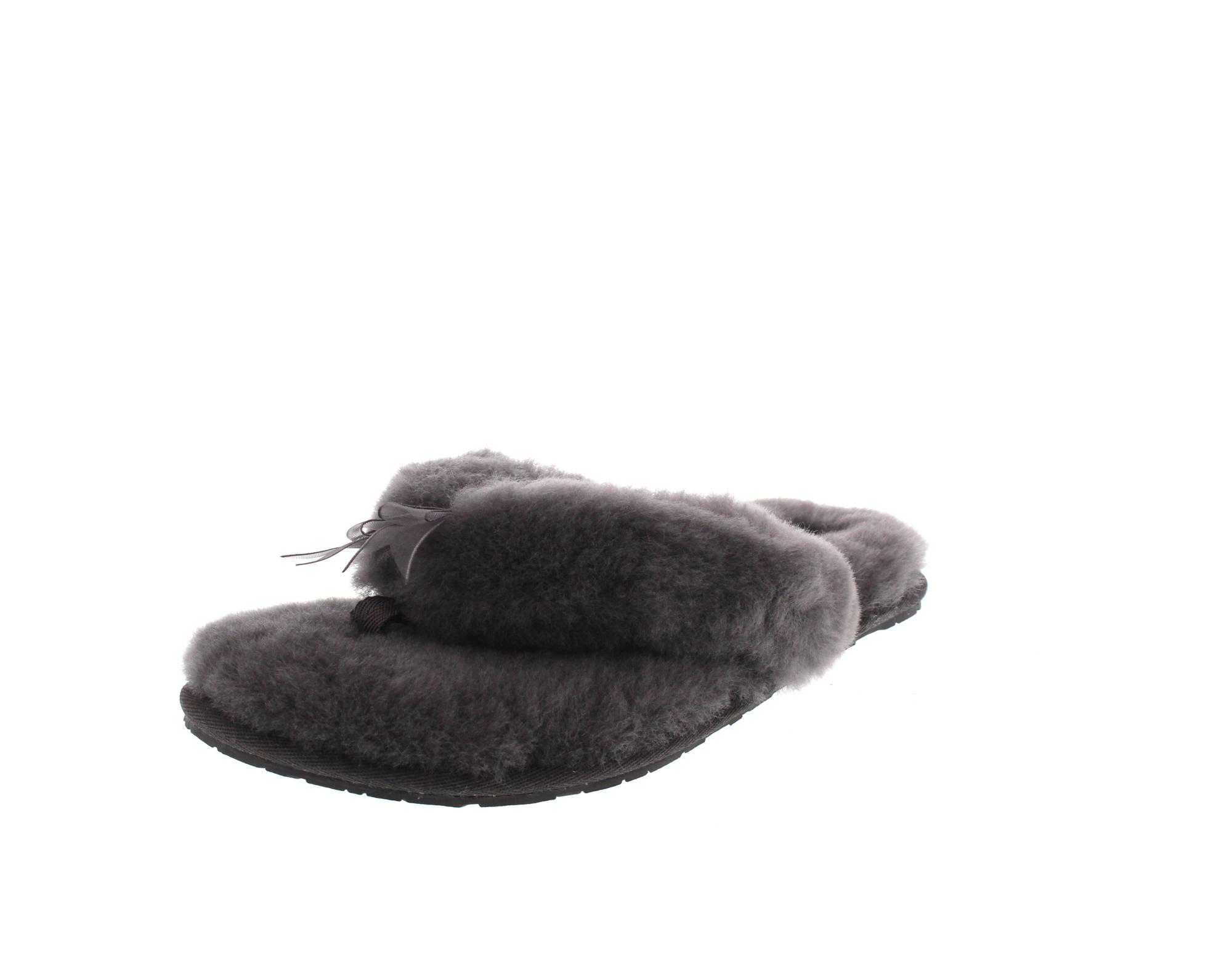 UGG Damen - Hausschuhe FLUFF FLIP II 1003492 - grey-0