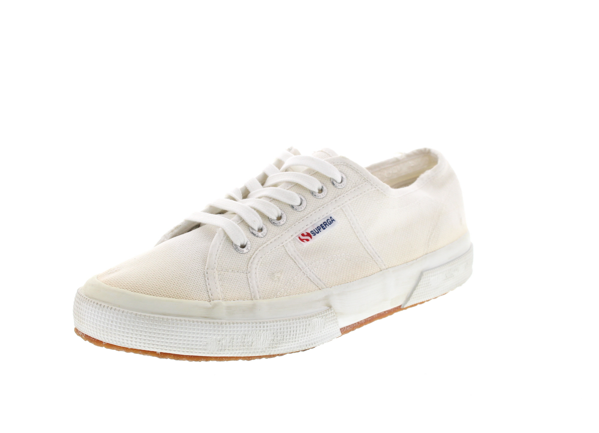 SUPERGA in Übergröße - Sneaker COTUSTONEWASH 2750 white