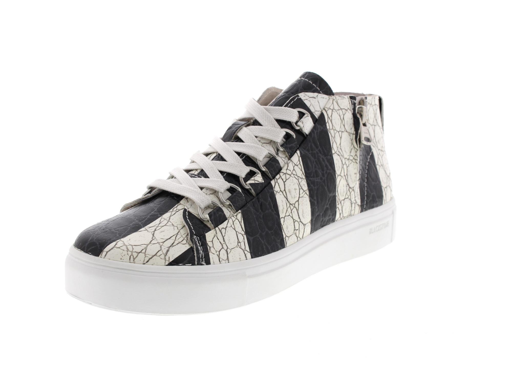 BLACKSTONE Damenschuhe - Sneaker NL43 - stripes black0