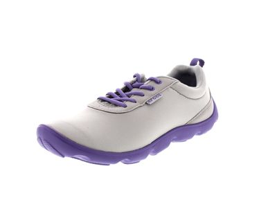 CROCS Damen - DUET BUSY DAY LACE UP - light grey violet