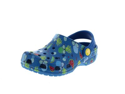 CROCS Kinderschuhe CLASSIC SUMMER FUN CLOG ultramarine
