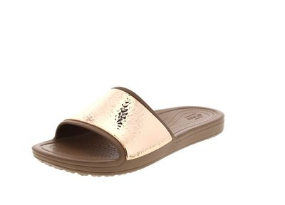 CROCS Pantoletten - SLOANE Embellished Slide - bronze preview 1